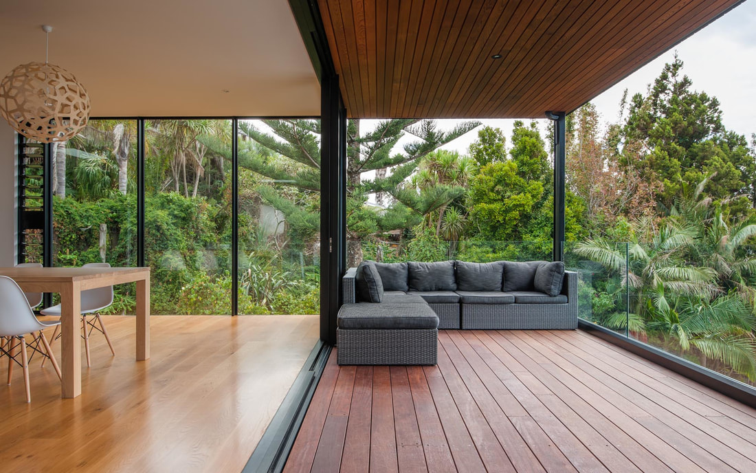 Improve indoor outdoor flow with flooring