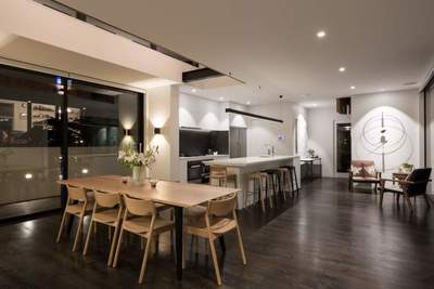 lawson house of the year engineered oak flooring  with bona graphite auckland