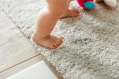 Healthy flooring options for babies room
