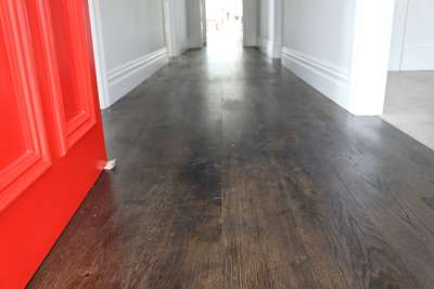 dilegno engineered oak flooring with bona graphite auckland