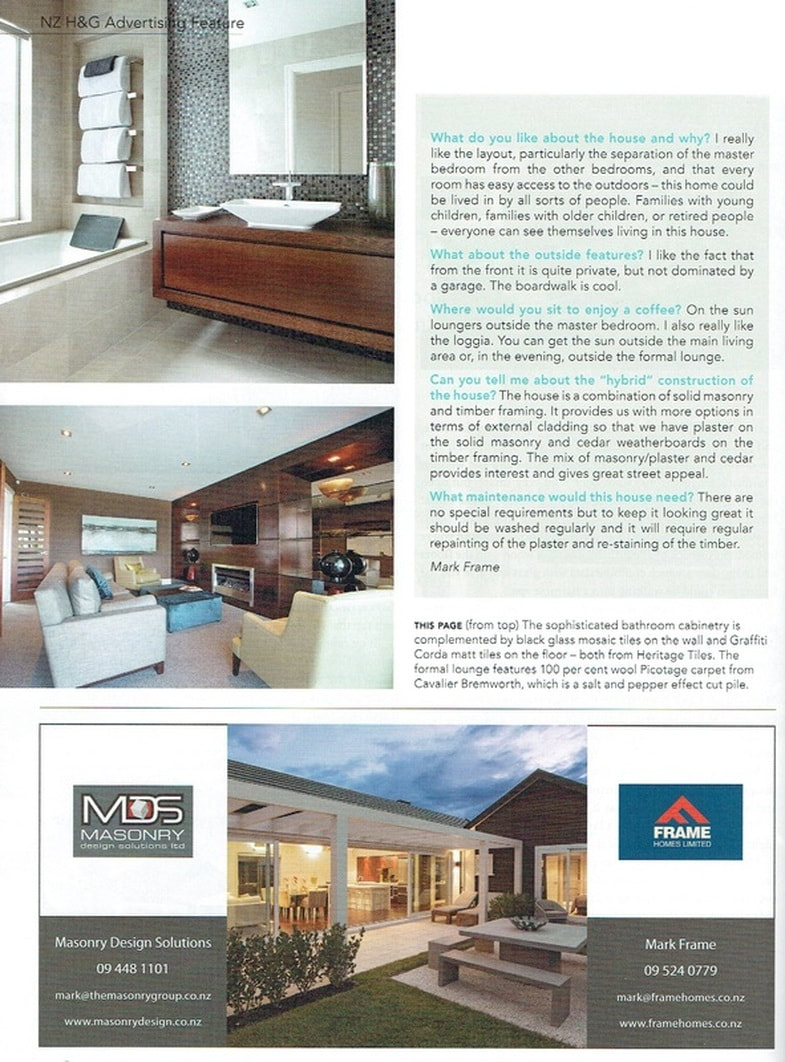 NZ home and garden magazine engineered oak flooring